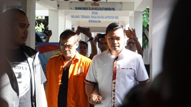 Tio Pakusadewo tertangkap kasus narkoba