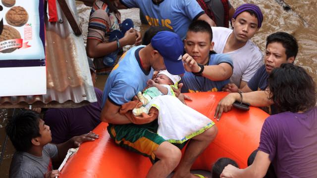 Korban Meninggal Badai Tembin di Filipina Jadi 200 Orang (160510)