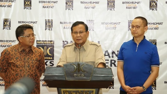 Sohibul Iman, Prabowo Subianto, Eddy Soeparno