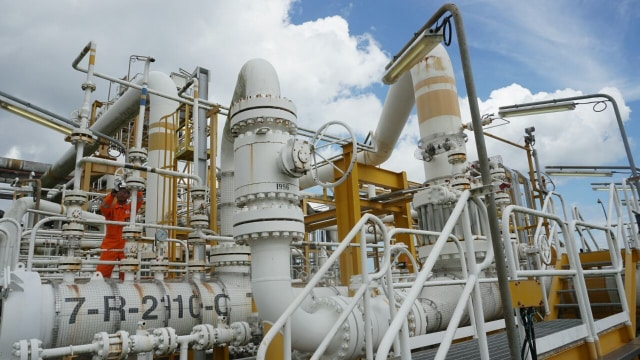 5 Bulan Dikelola Pertamina, Produksi Gas Blok Mahakam Turun 31% (341325)
