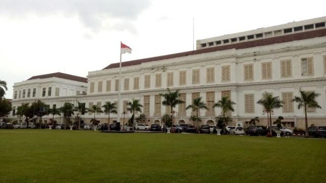 Gedung 'Berhantu' Daendels di Lapangan Banteng Akan Dikomersialkan (15161)