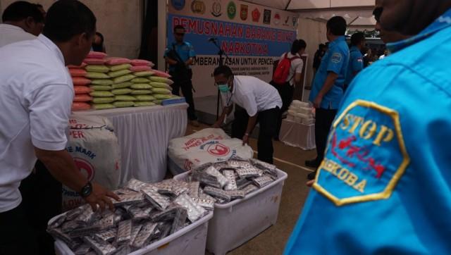 Bersama Buwas, Wiranto Pilih Ekstasi Termahal untuk Dimusnahkan (478171)
