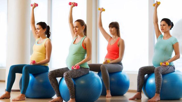 Olahraga saat hamil