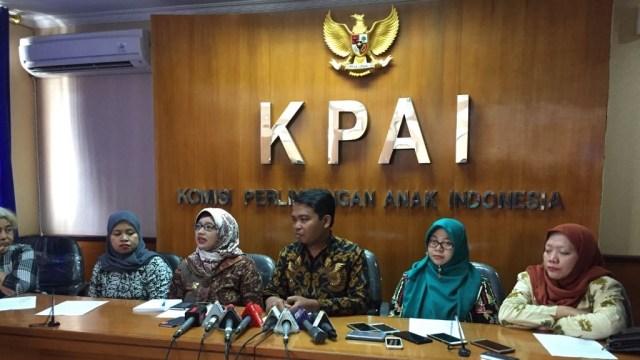 Konferensi Pers KPAI