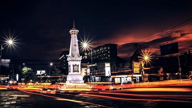 Tugu Jogja sebagai landmark kota Yogyakarta