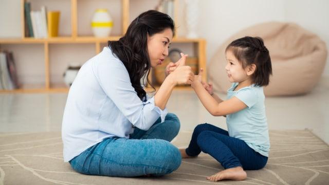 Katakan dengan anak secara tegas