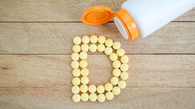 Ilustrasi suplemen vitamin D