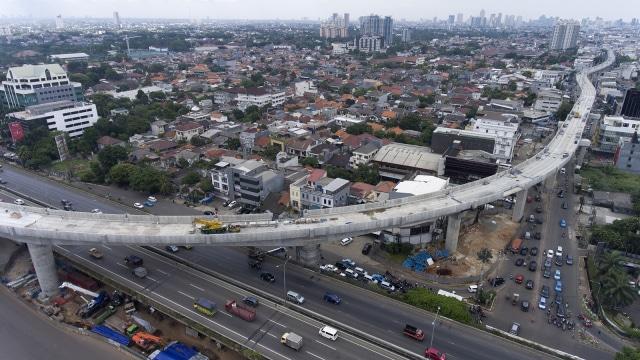 Proyek jalur layang MRT