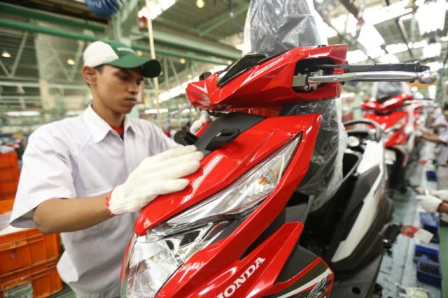 Penjualan Honda dan Yamaha Naik, Kawasaki Turun (80038)