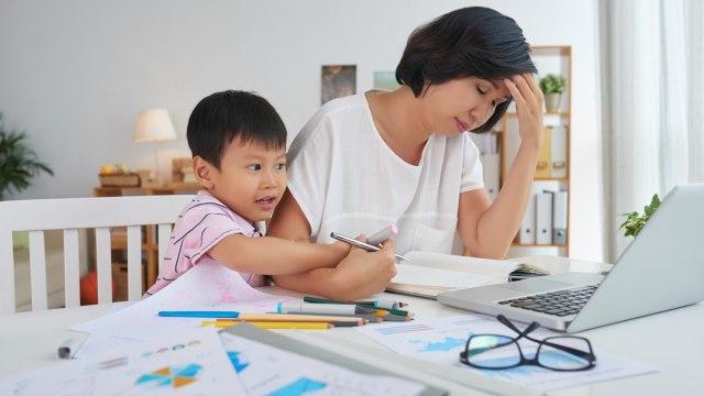 Stres orang tua berpengaruh pada anak