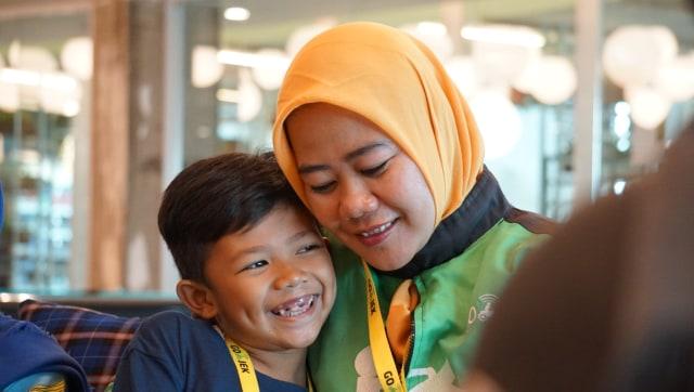 Siti Qomariyah, driver GO JEK