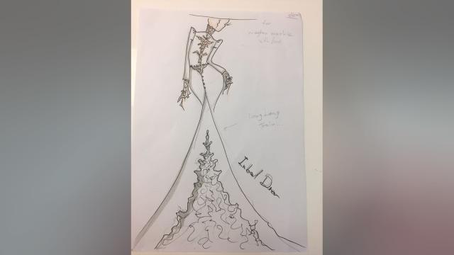 Cantiknya Sketsa Gaun Pengantin Inbal Dror Untuk Meghan Markle