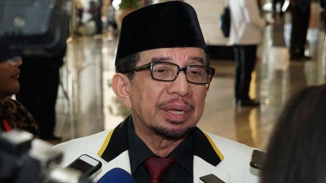 Ketua Majelis Syuro PKSSalim Segaf Al Jufri