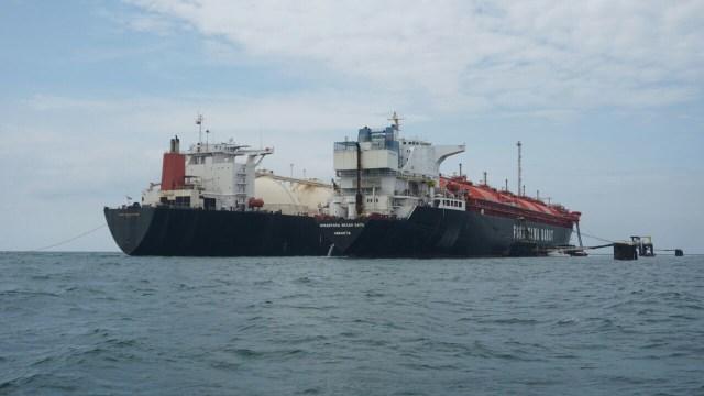 Pertamina Pasok LNG untuk Industri di Dumai (340011)