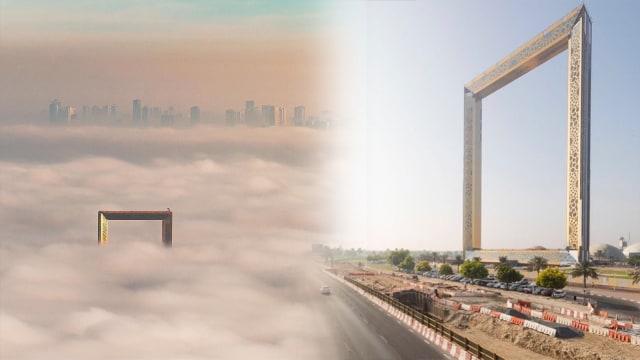Bangunan Bentuk Figura Dubai