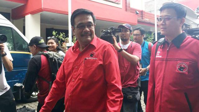 Djarot dan Ketua Dpd PDIP Medan Hasyim