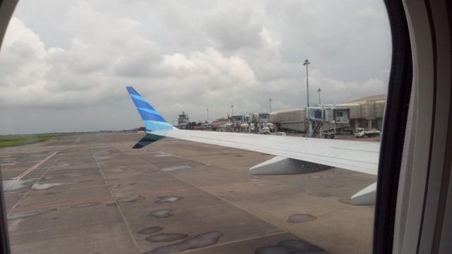 Sayap Boeing 737 Max 8 dengan desain aerodinamis