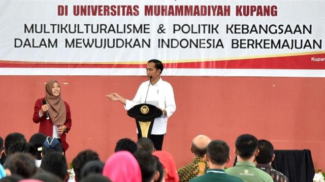 Presiden Jokowi : Wisata Trend-nya Anak Muda