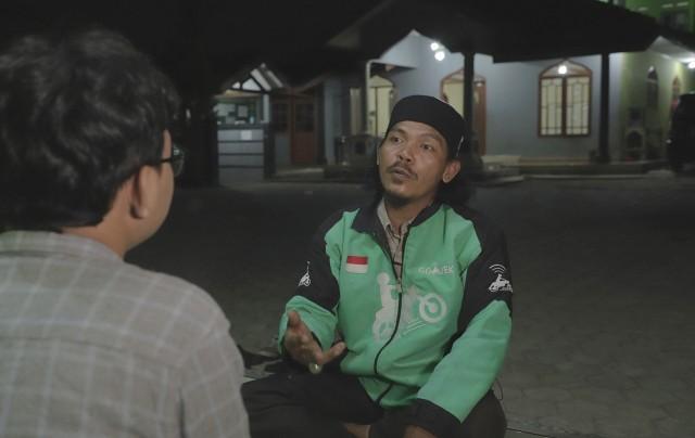 Endang Irawan, Driver Go-Jek pengasuh ponpes