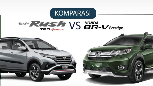 Infografik: Duel All New Toyota Rush vs Honda BR-V  (286652)