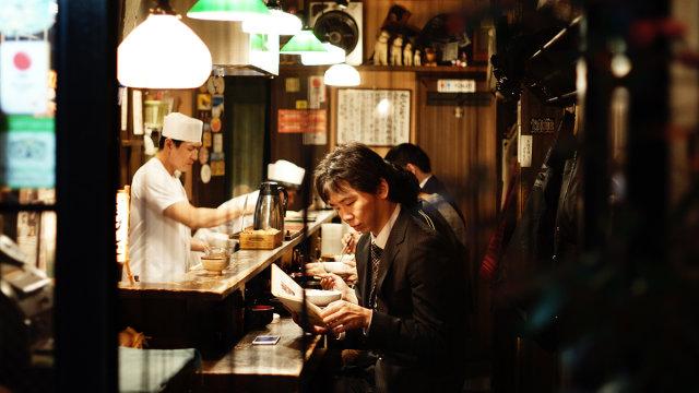 Ilustrasi restoran di Jepang