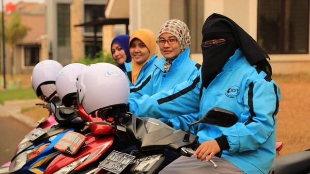 Ada Layanan Ojek Online Muslimah 'Ojesy', Berapa Tarifnya? (41817)