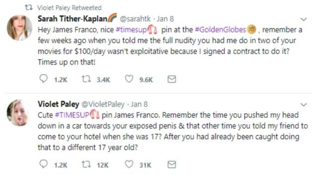 James Franco Dituduh 5 Wanita Telah Melakukan Pelecehan Seksual (133962)
