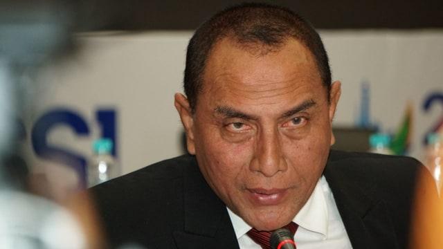 LIPSUS, SUPORTER, Edy Rahmayadi, Ketua Umum PSSI