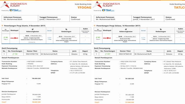 Catatan Perjalanan Bersama Tiket Com Mudah Nyaman Murah Kumparan Com