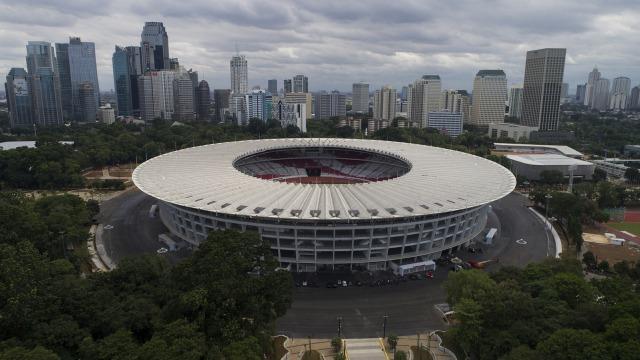 Suasana Stadion Gelora Bung Karno