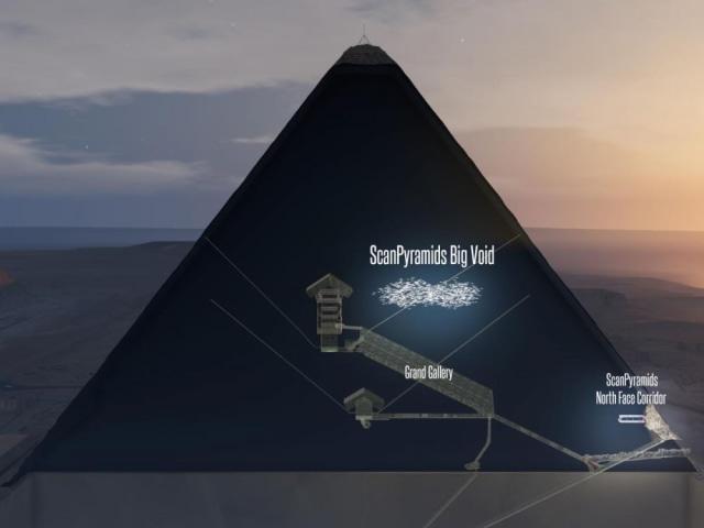 Ilustrasi di dalam Piramida (Not Cover)
