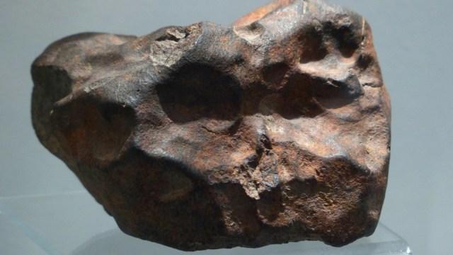 Ilustrasi batu meteor