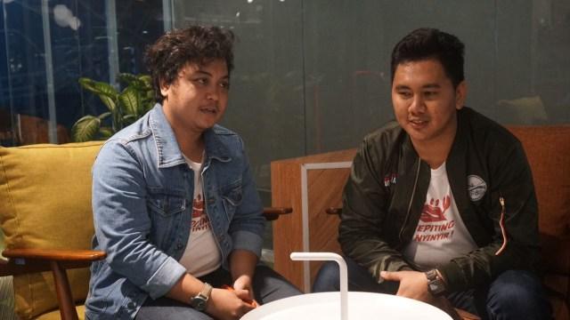 Gilang Margi & Rachman dari Kepiting Nyinyir