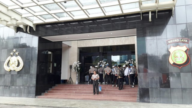 Gedung Promoter Polda Metro Jaya