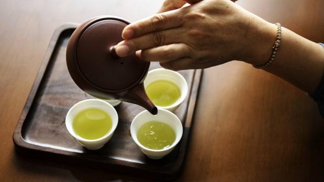 cara minum fogyókúrás tea yang benar)