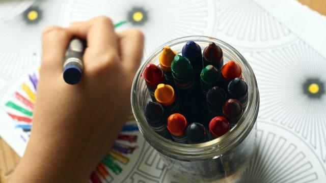Anak mengenal warna