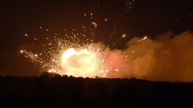 Ledakan Pabrik Kimia di China Tewaskan 19 Orang  (862971)