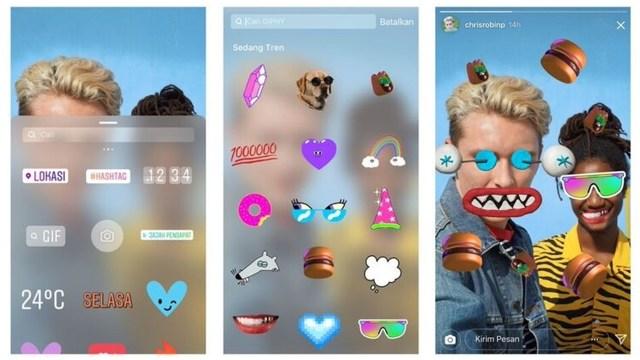 6 Tips Pakai Konten Gif Paling Kece Di Instagram Stories Kumparan Com