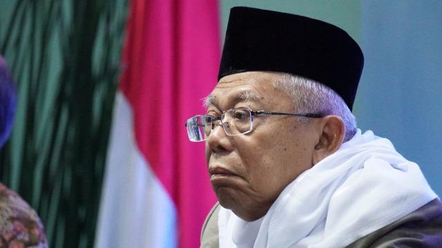 Ma'ruf Amin Melobi Jokowi Agar Beri Grasi Abu Bakar Ba'asyir (57562)