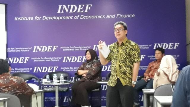 INDEF Diskusi Perekonomian RI