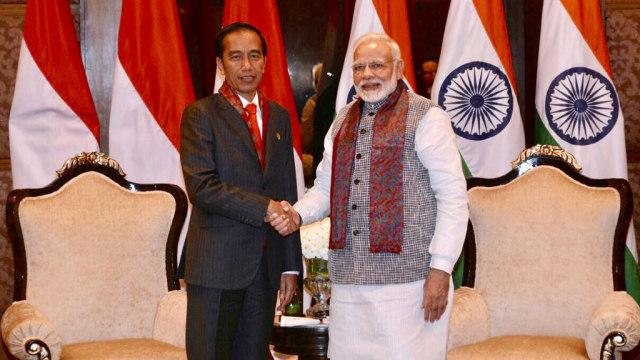 Ekonomi dan Maritim, Topik Utama Pertemuan Jokowi-PM India di Jakarta  (8513)