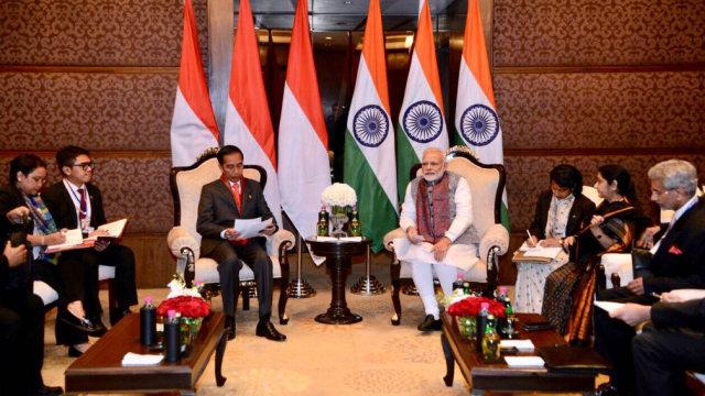 Temui PM Modi, Jokowi Bahas Tarif Bea Masuk Minyak Nabati RI ke India (227047)