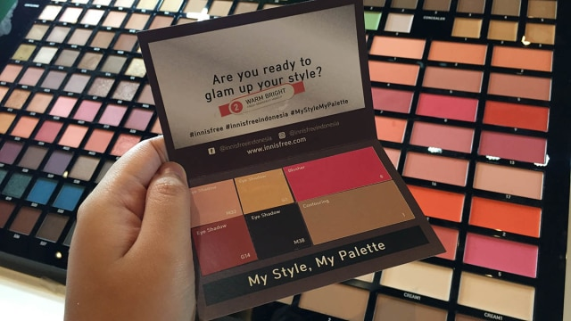 My Palette, Produk Terbaru innisfree yang Bebas Pilih Warna Eyeshadow (1022910)