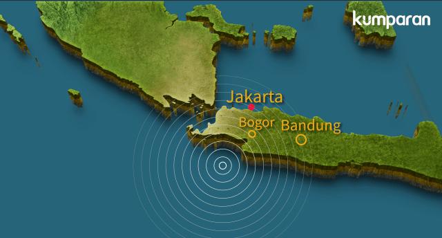 Gempa di Lebak, Banten