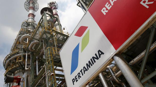 Kilang minyak milik Pertamina di unit IV