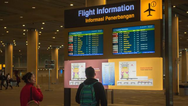 Ilustrasi informasi penerbangan