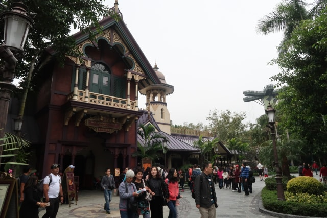Explorer's Club Hong Kong Disneyland