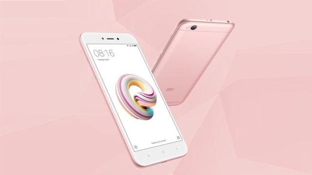 Xiaomi Redmi 5A Edisi Pink