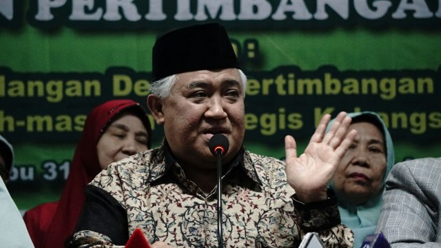 Din Syamsuddin soal Organisasi Penggerak: Jokowi Patut Disalahkan, Bukan Nadiem (377938)