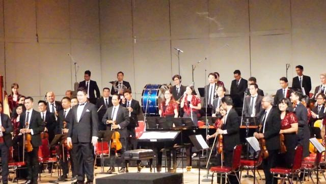 Pertunjukan orkestra 'Invitation to Dance'